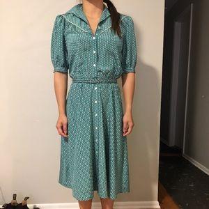 Vintage Diane von Furstenberg DVF shirtdress